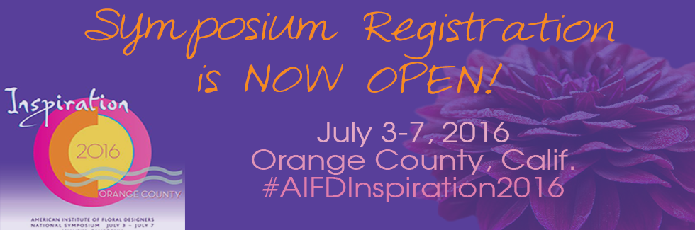AIFD 2016 in Orange County, CA #AIFDInspiration2016